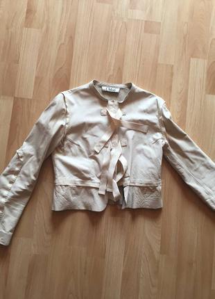 Кожа куртка chloe2 фото