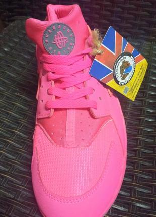 Nike air huarache run womens shoes кросівки кроси кеди рожеві pink