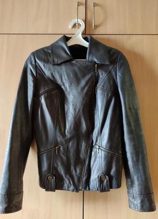 Кожаная куртка (косуха), размер s