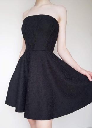 Платье без бретель мереживо гипюр выпускной вечер