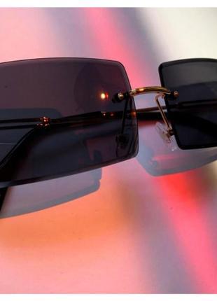 Солнцезащитные ретро очки 🖤