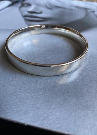 Браслет 100% серебро 925 проба вес 52 грамма