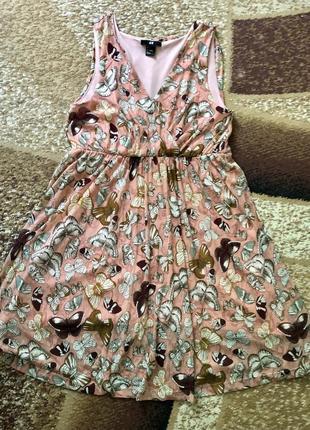 Сарафан шифоновый, летнее платье h&m