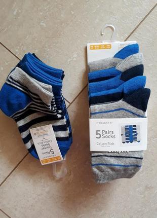 Коротенькие и длинные носки от 23 до 38.5 размера