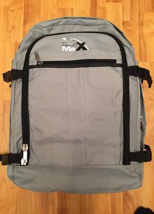 Рюкзак чемодан для ручной клади cabin max backpack flight low cost approved