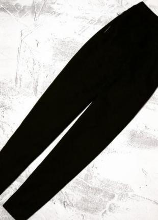 Базовые чорные брюки5 фото