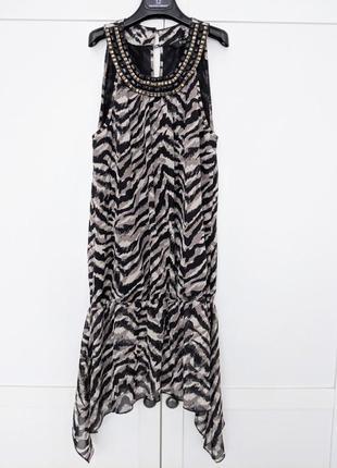 Туника платье в стиле cavalli