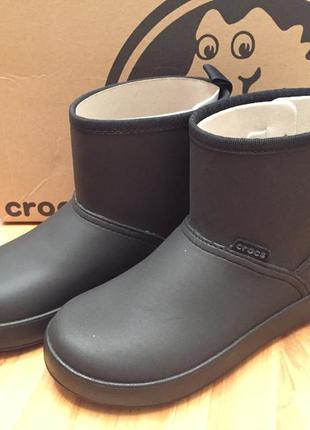 Полусапоги crocs colorite boot размеры 34-35 (w5) и 36-37 (w6)
