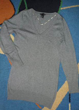 Удлиненный свитер h&m