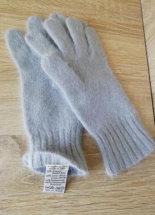 Ангоровые перчатки, рукавички, италия