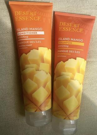 Кондиционер+шампунь островное манго органика сша