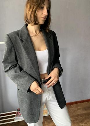 Офигеный кашемировый оверсайз пиджак/жакет