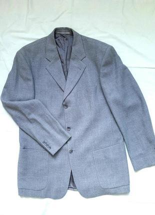 Піджак, жакет, класичний, сірий, прямий, підплечники, оверсайз, італія, тренд
