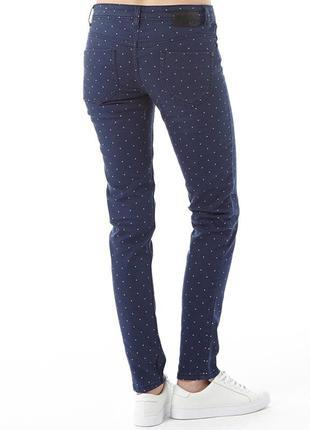 Милые джинсы скинни adidas neo в горох