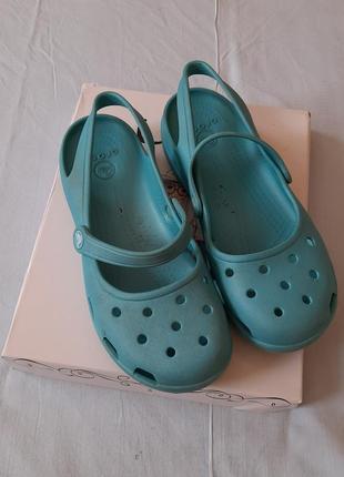Кроксы crocs  w9