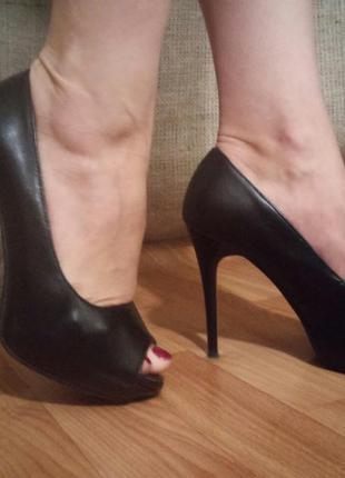 Туфли черные gelsomino