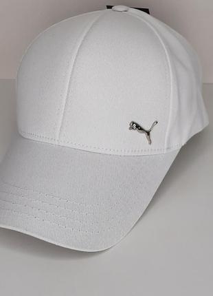 Кепка бейсболка пума puma біла белая