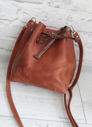 Новая сумка кожаная