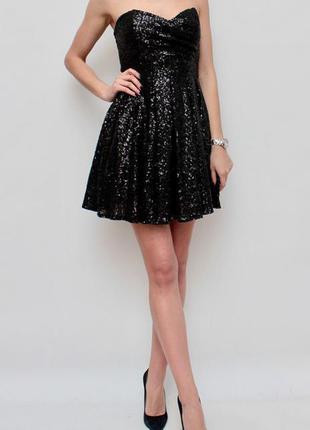 Платье в пайетках asos