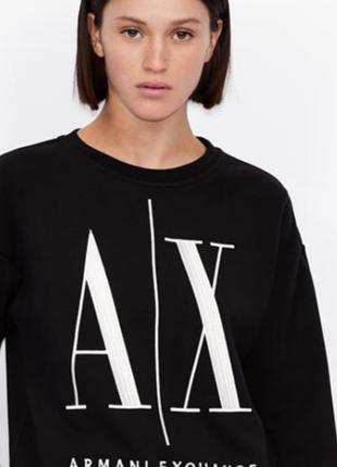 Свитшот - футболка - свитер armani