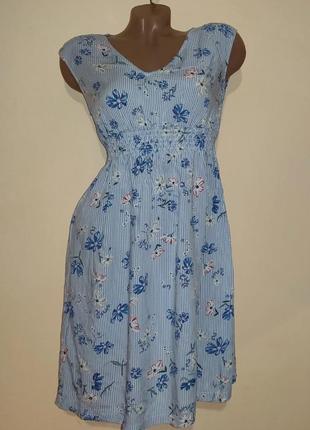 Женское коттоновое платье бренд h&m
