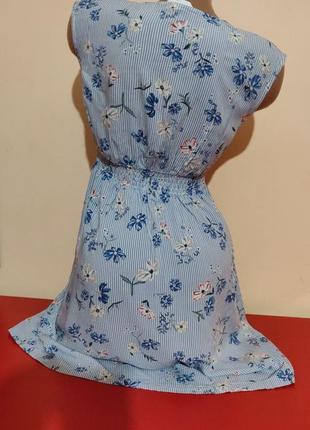 Женское коттоновое платье бренд h&m2 фото