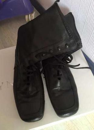 Ботинки кожа р-р 41
