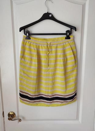 Лёгкая полосатая юбка