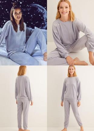 Домашний костюм, пижама велюр вумен сикрет