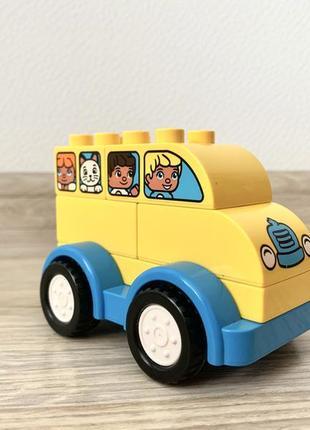 Конструктор lego мой первый автобус (10851)