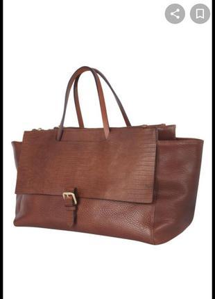 Брендовая, кожаная сумка