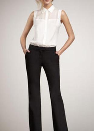 Классические расклешенное брюки