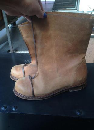 Дизайнерские ботинки