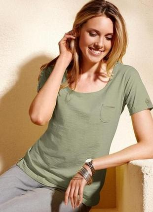 Комфортная актуальная модель для каждого дня от tchibo - хлопковая футболка