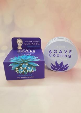 Патчи petitfee agave cooling hydrogel eye patch