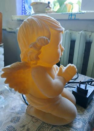 Светильник, ночник, ангелочек