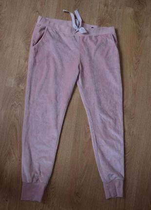 Велюровые брюки штаны на манжетах
