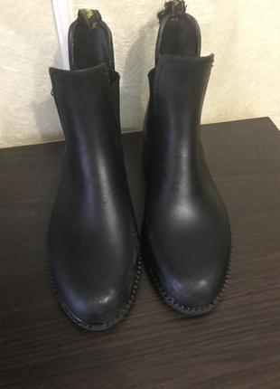Ботинки для конного спорта ( резиновые)