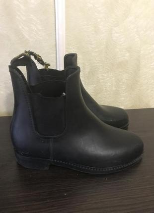 Ботинки для конного спорта ( резиновые)2 фото