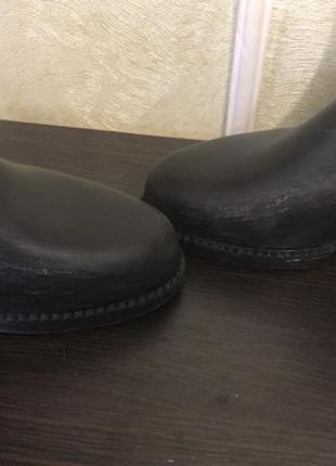 Ботинки для конного спорта ( резиновые)6 фото
