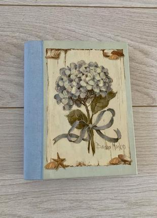 Новий записник блокнот з зображенням квітів