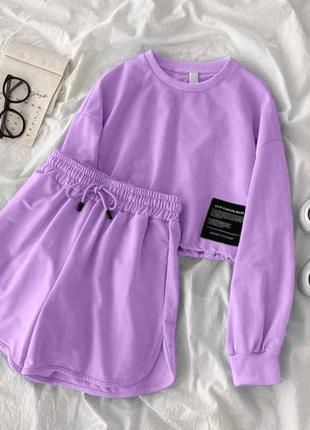 Костюм шортами разные цвета
