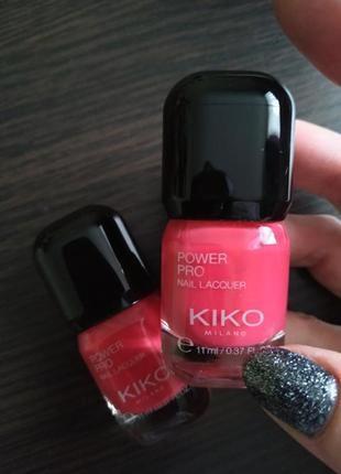 Лак для ногтей kiko power pro
