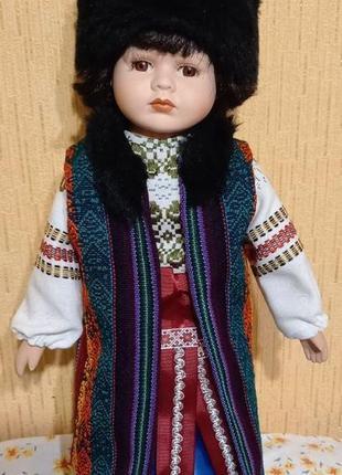 Кукла козак украина, фарфор