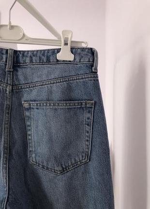 ▪️блакитні джинси мом topshop