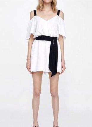 Платье комбинезон ромпер короткое zara зара, размер s