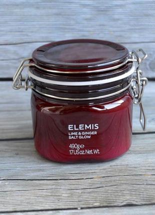 Солевой пилинг elemis exotic lime & ginger salt glow оригинал