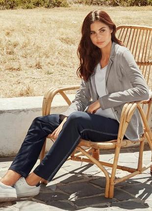Джерси блейзер-пиджак в винтажном стиле