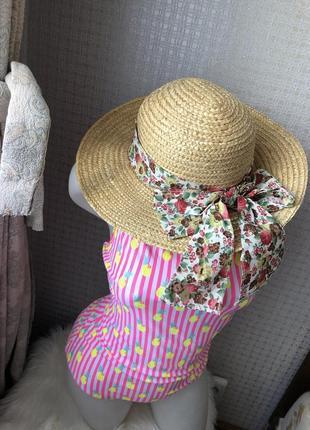 Шикарная шляпа летняя шляпка панамка панама