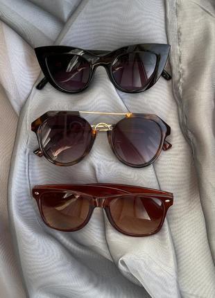 Сонцезахисні окуляри h&m sinsay очки